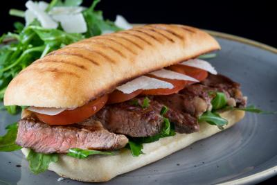 Beef Ribeye Wagyu Steak Sandwich