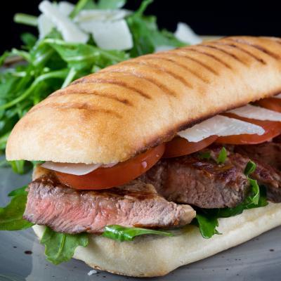Beef Ribeye Wagyu Steak Sandwich