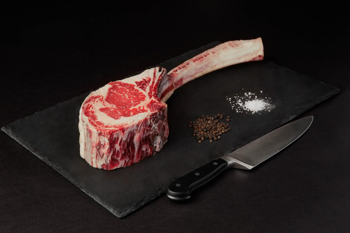 Beef Upper 1/3 Choice Angus Dry Aged Tomahawk