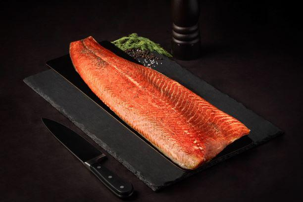 Salmon Whole Hot Smoked - Ready to Eat