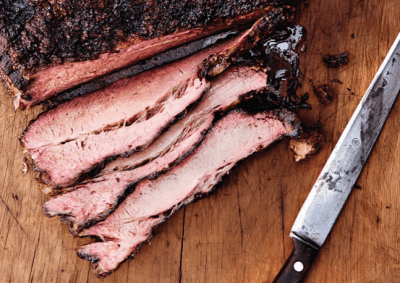 Sliced Smoked Brisket