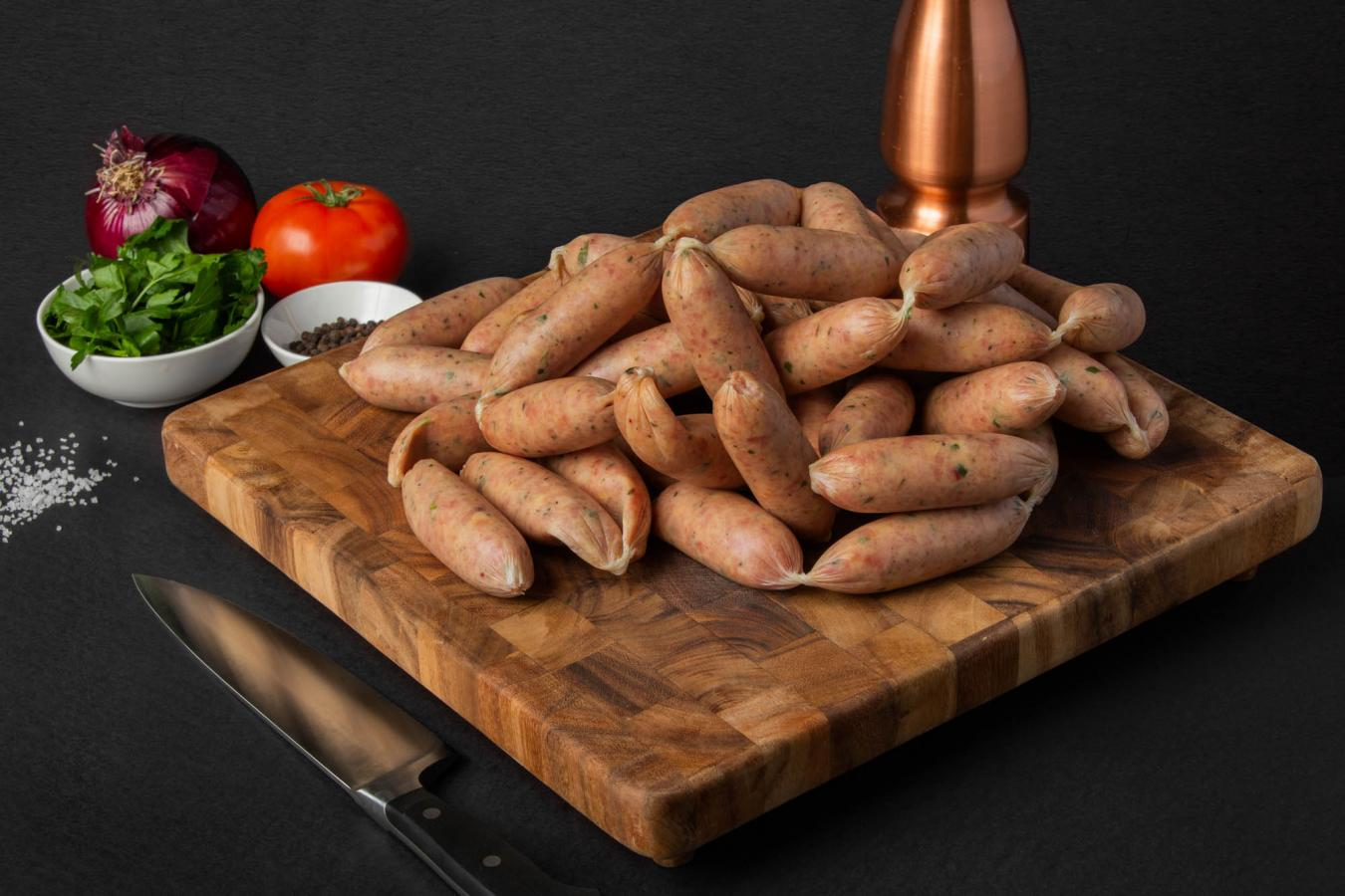 Chicken and Apple Sausages