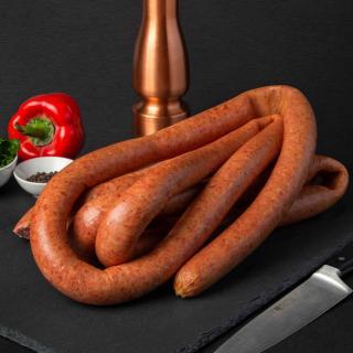 Smoked Rope Kielbasa Sausages