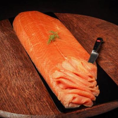 Verlasso Salmon Whole Cold Smoked - Sliced - Ready to Eat