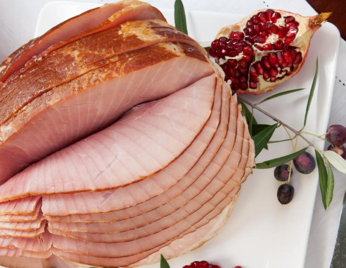 All Natural Smoked Whole Spiral Ham