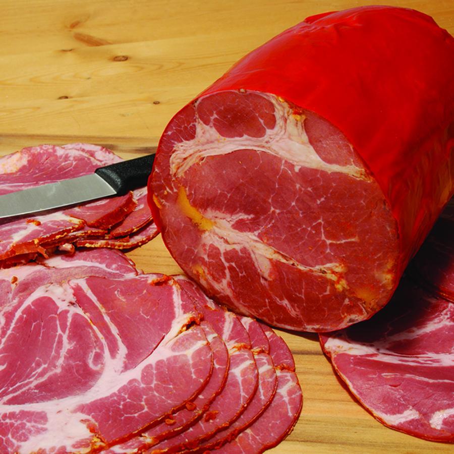 Sliced Hot Capicola