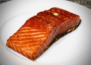 Hot Smoked Salmon Filet