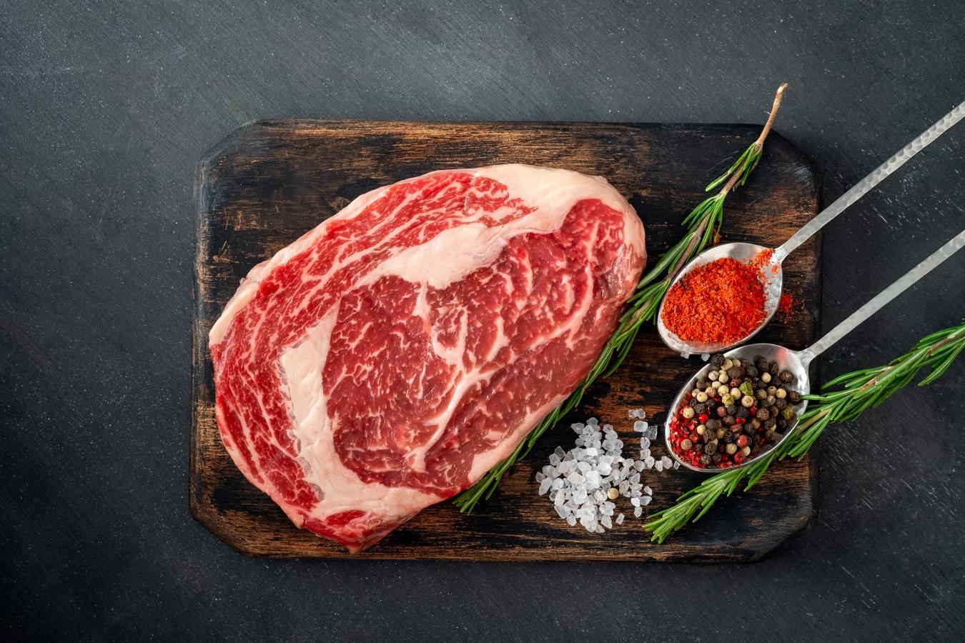 Beef Prime Boneless Ribeye Steak