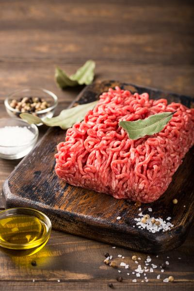 Beef Ground Angus Chuck 80/20 - 1LB Brick