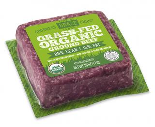 Grass-Fed Organic Ground Beef